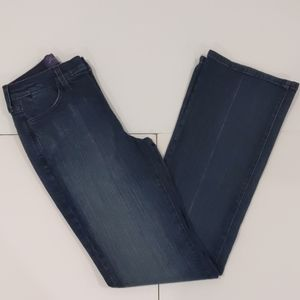 NWT NYDJ blue denim bootleg jeans sz 0